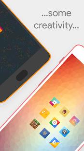 Talitha Square - Captura de pantalla del paquete de iconos