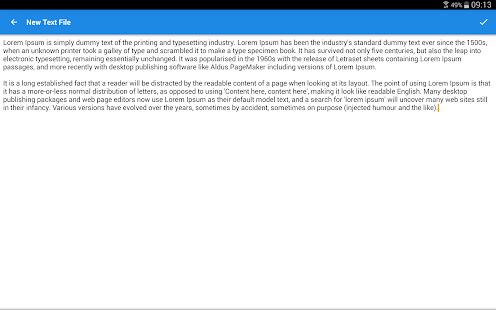 Captura de pantalla del administrador de archivos