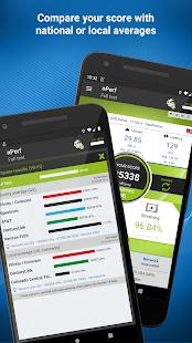 Prueba de velocidad 3G, 4G, 5G, WiFi y mapa de cobertura de red Captura de pantalla