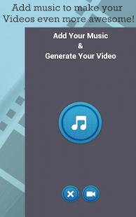 Editor de video Recortar Cortar Agregar texto Captura de pantalla