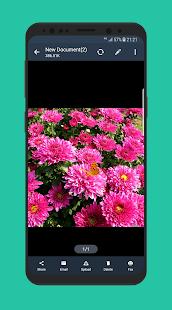 Mini Scanner - Captura de pantalla de la aplicación PDF Scanner gratuita