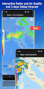 El tiempo: pronóstico del tiempo y captura de pantalla del widget