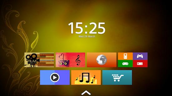 Captura de pantalla de Top TV Launcher 2