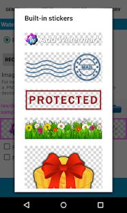 Agregar captura de pantalla de marca de agua