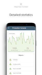 Bloqueador y protector de micrófono, captura de pantalla de seguridad antispyware