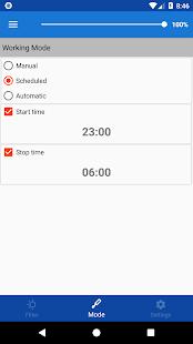 Captura de pantalla de medianoche (modo nocturno)
