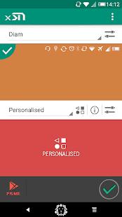 Xstana: barras de estado y barras de navegación [Xposed] Captura de pantalla