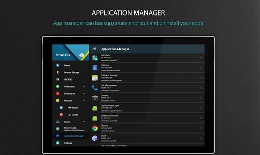 Administrador de archivos: captura de pantalla del Explorador de archivos local y en la nube
