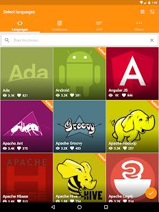 Aprender a programar Captura de pantalla