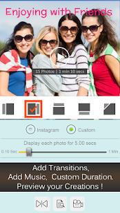 PicsVideo Photo Slideshow Maker Gratis Agregar captura de pantalla de música