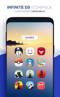 Captura de pantalla del Infinite Icon Pack
