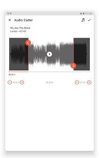 Video Converter, captura de pantalla del editor de video