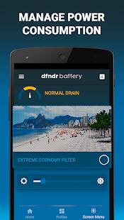batería dfndr: administre la duración de la batería Captura de pantalla