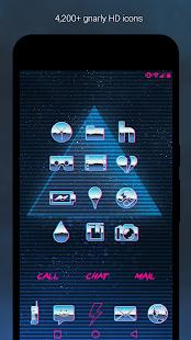 Rad Pack - Captura de pantalla del tema de los 80 (versión Pro)