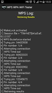 Captura de pantalla de WPS WPA WiFi Tester (No Root)