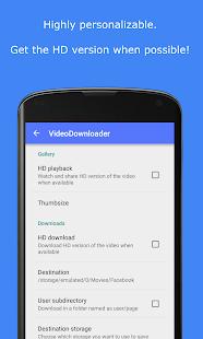 MyVideoDownloader para Facebook: ¡descarga videos!  Captura de pantalla