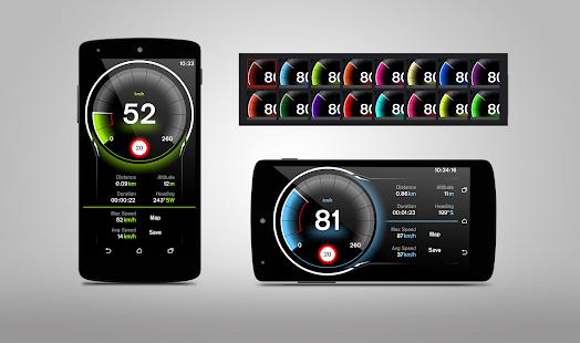 Captura de pantalla de Speed View GPS Pro