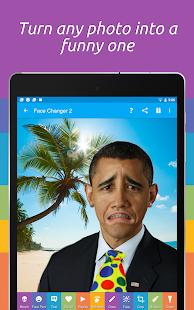 Captura de pantalla de Face Changer 2