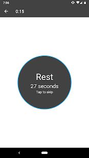 Captura de pantalla de entrenamiento de 15 minutos