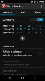 Captura de pantalla de Silence Premium No molestar
