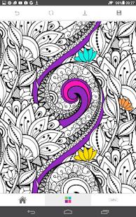 ColourGo - Captura de pantalla del libro para colorear gratis para adultos