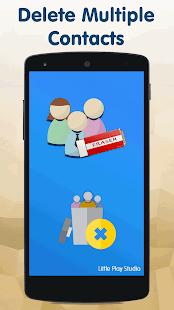 Eliminar captura de pantalla de varios contactos