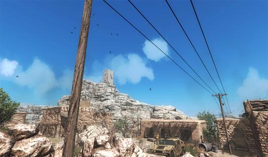 Captura de pantalla de la tormenta del desierto