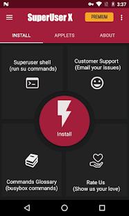 Superusuario X Pro [Root] - Captura de pantalla con 50% de descuento