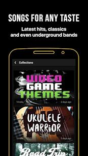 Ultimate Guitar: Captura de pantalla de acordes y tablaturas