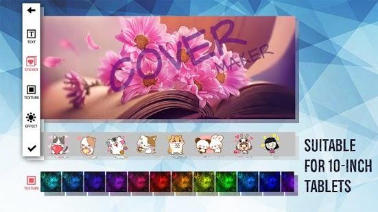 Cover Maker - Captura de pantalla de Flyer Maker y Flyer Designer