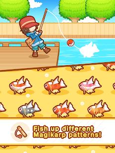 Pokémon: Magikarp Jump Captura de pantalla