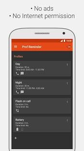 Recordatorio de llamada perdida, captura de pantalla de Flash en la llamada