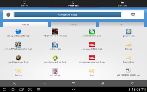 Captura de pantalla del cable de datos del software