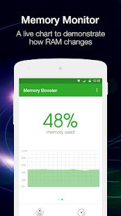 Captura de pantalla de Memory Booster (versión completa)