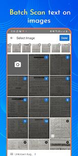 Escáner de texto OCR: extrae texto en la captura de pantalla de la imagen