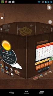 Captura de pantalla de TSF Launcher 3D Shell