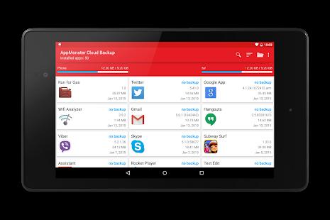 Captura de pantalla de AppMonster v5 Pro