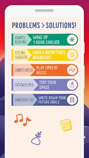 Fabuloso: Captura de pantalla del rastreador de hábitos y motivación diaria
